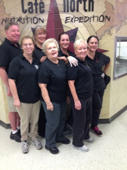 Back in Black/Always and Forever VIP Award – The Cafeteria Crew