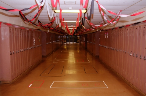 Senior Hallway (photo by Nick Dirschel)