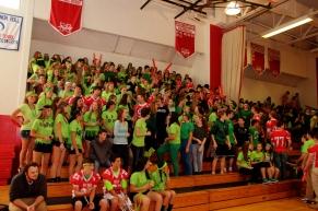 The Sophomore Class shows their spirit! (Photo by Nick Dirschel)