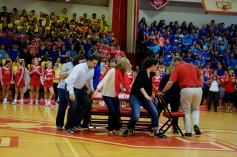 The First Round of Teacher Musical Chairs (Photo by Nick Dirschel)