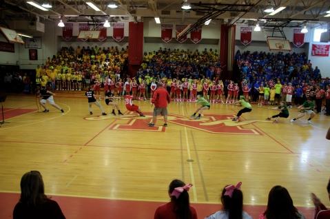 Senior vs. Sophomore Class Officers