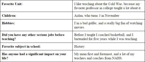 Mr. Mulkerrins Teacher Tales