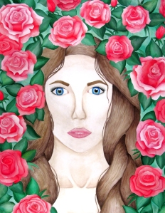"Anna MacPhearson (Senior) ""One With Nature"" Watercolor"