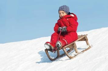 child-sledding