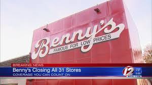 Bennys closing