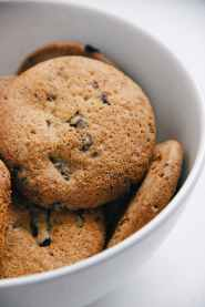 photo of cookies on a bowl